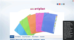 Preview of newartiplast.it