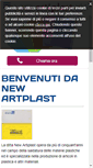 Mobile Preview of newartiplast.it