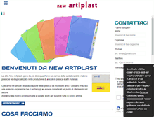 Tablet Preview of newartiplast.it